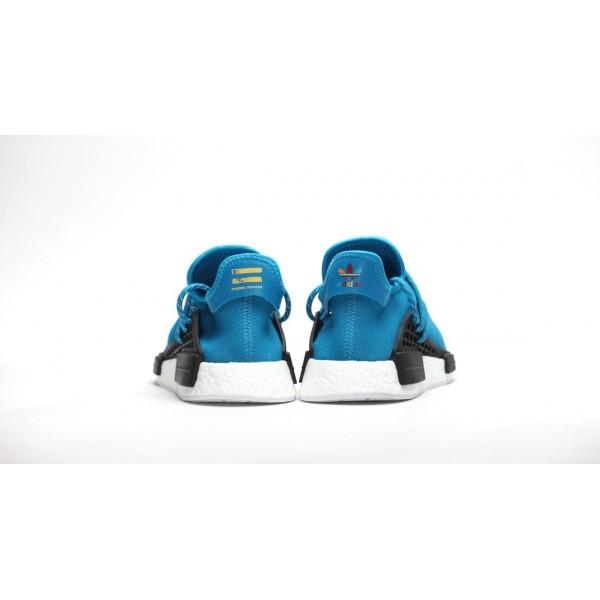Adidas Men PW Human Race NMD Blue White Shoes BB0618