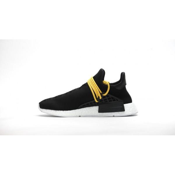 Adidas Men PW Human Race NMD BB3068 Boost Pharrell Williams Black Shoes BB3068