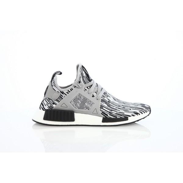 Adidas Men Originals NMD XR1 PK Glitch Grey Black ...