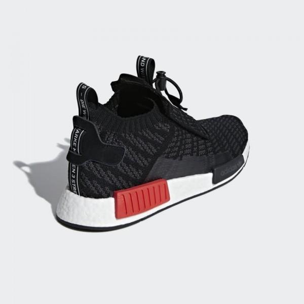Adidas Men Originals NMD TS1 Bred Black Grey Shoes B37634