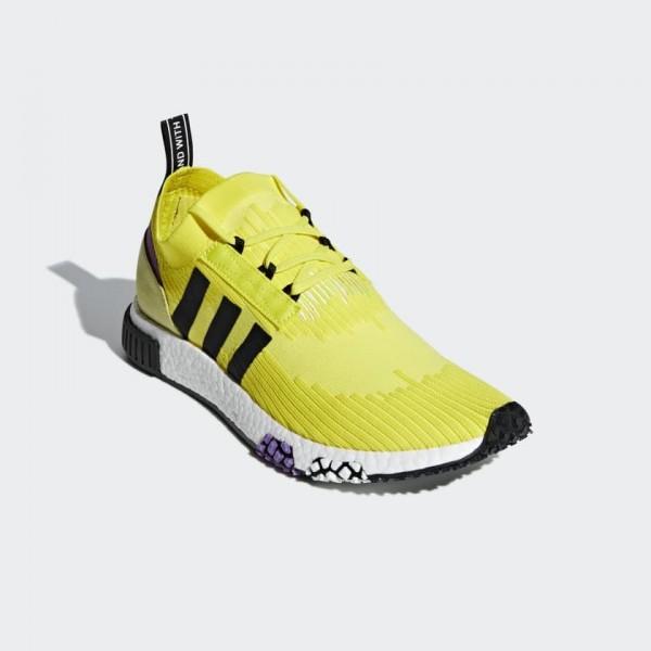 Adidas Men Originals NMD Racer PK Yellow Black Purple B37641