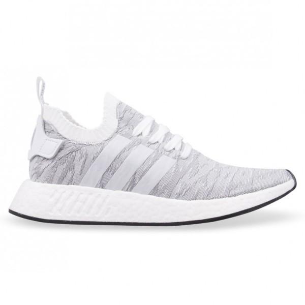 Adidas Men Originals NMD R2 Pk Boost White Black S...