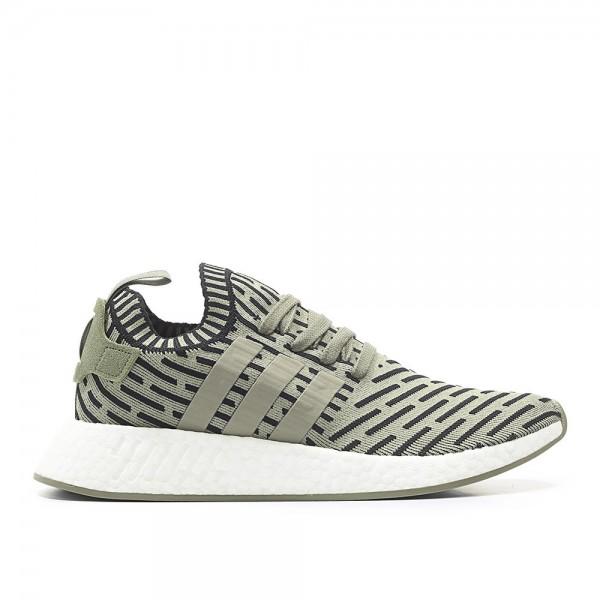 Adidas Men Originals NMD R2 Green Shoes BA7198