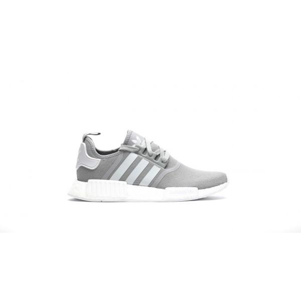 Adidas Men Originals NMD R1 Runner Boost Grey Shoe...
