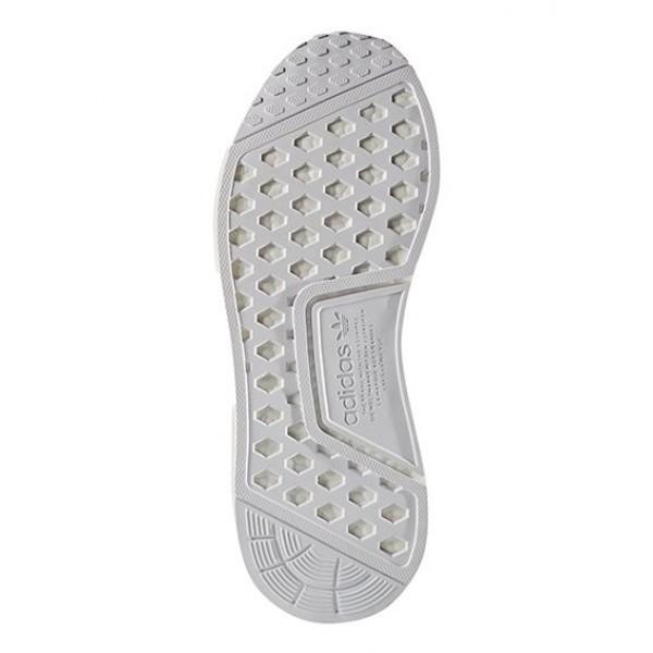 Adidas Men Originals NMD R1 Primeknit Glitch Black White Shoes BY1911