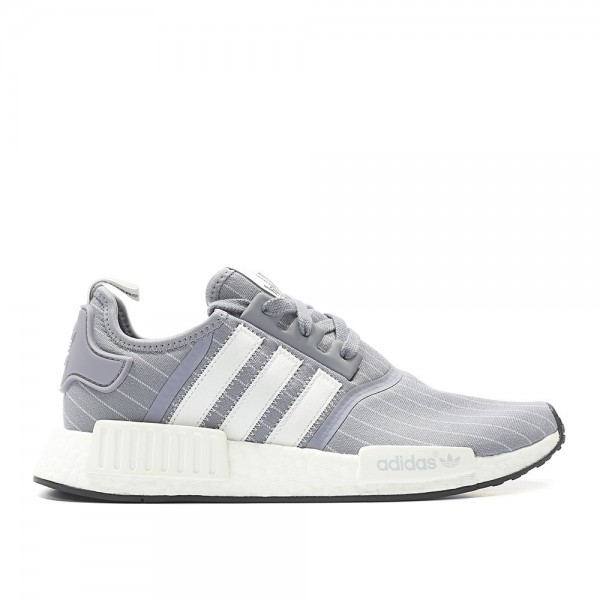 Adidas Men Originals NMD R1 Grey White Shoes BB312...