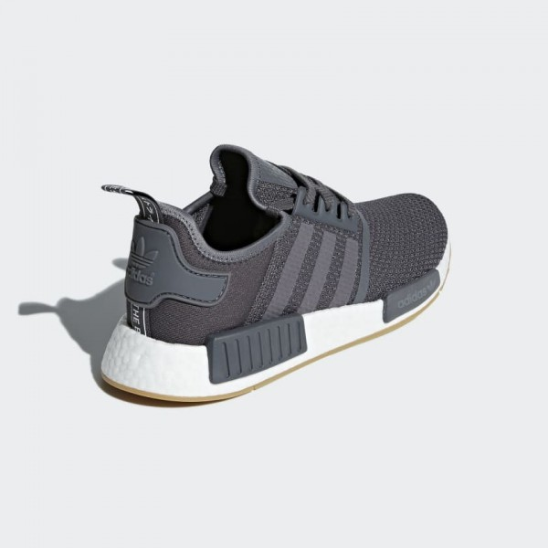 Adidas Men Originals NMD R1 Grey White Shoes B42199