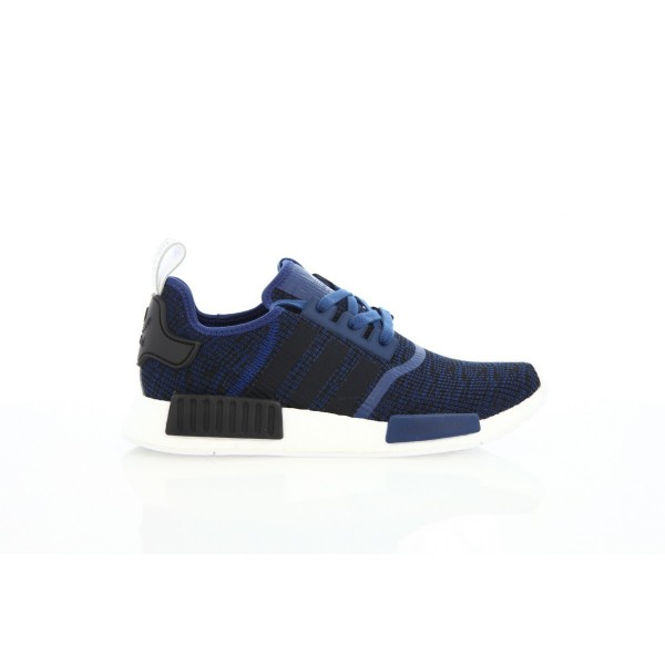 Adidas Men Originals NMD R1 Blue Black Shoes BY277...