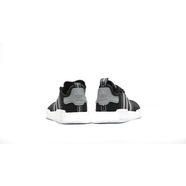 Adidas Men Originals NMD R1 Black Shoes S31504