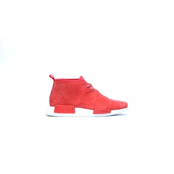 Adidas Men Originals NMD C1 Chukka Lush Red Shoes S79147