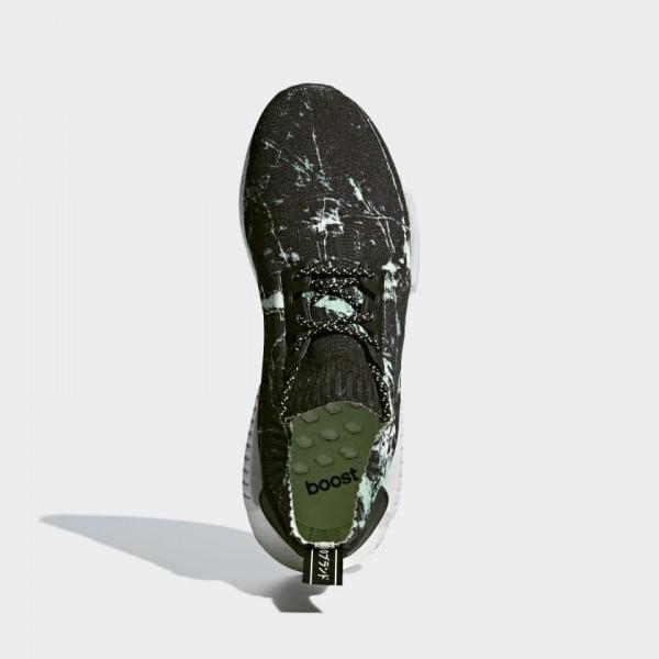 Adidas Men NMD R1 PK Black/Aero Green/White BB7996