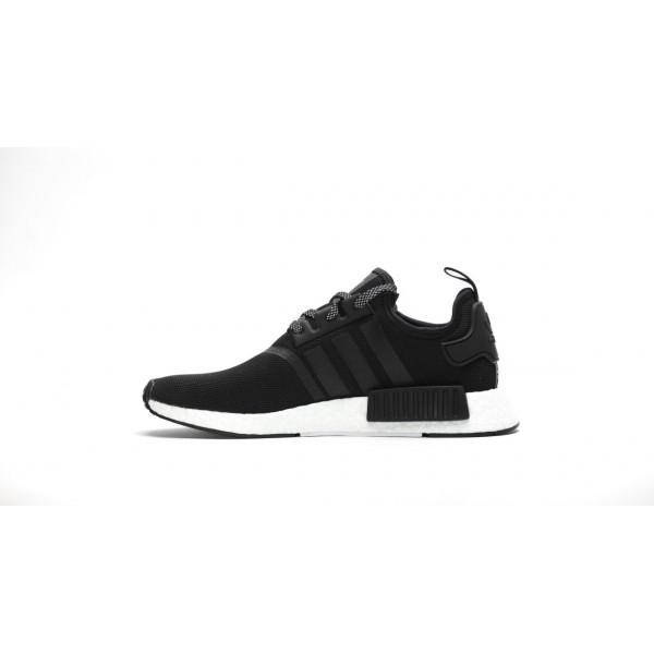 "Adidas Men NMD R1 Original Boost Runner ""Core Black"" Shoes S31505"