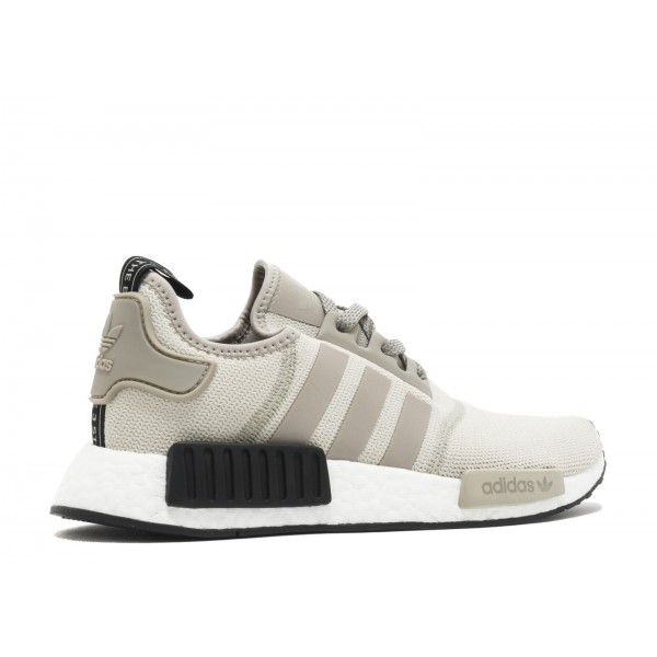 Adidas Men NMD R1 Nomad Runner Tan Beige White Black Shoes S76848