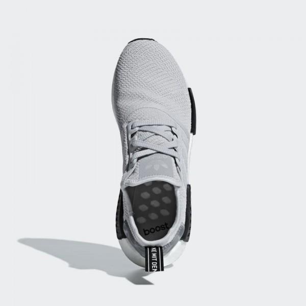 Adidas Men NMD R1 Grey Black Sneakes B37617