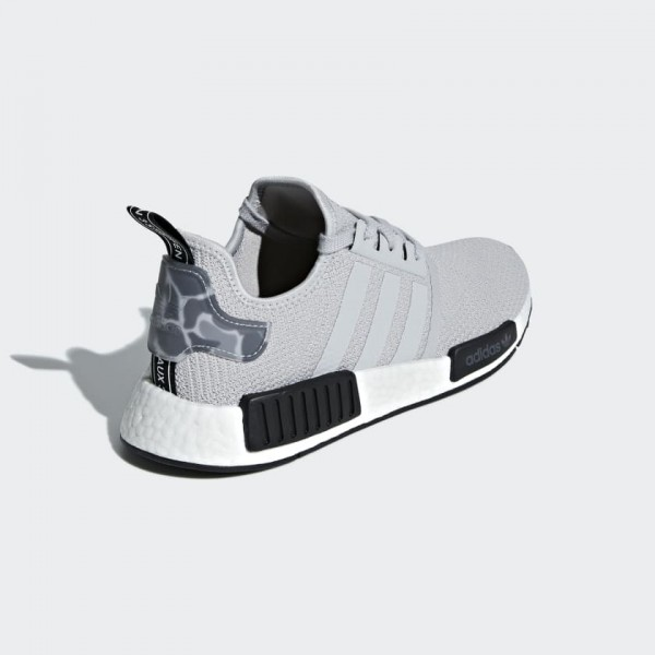 Adidas Men NMD R1 Grey Black Sneakes B37617