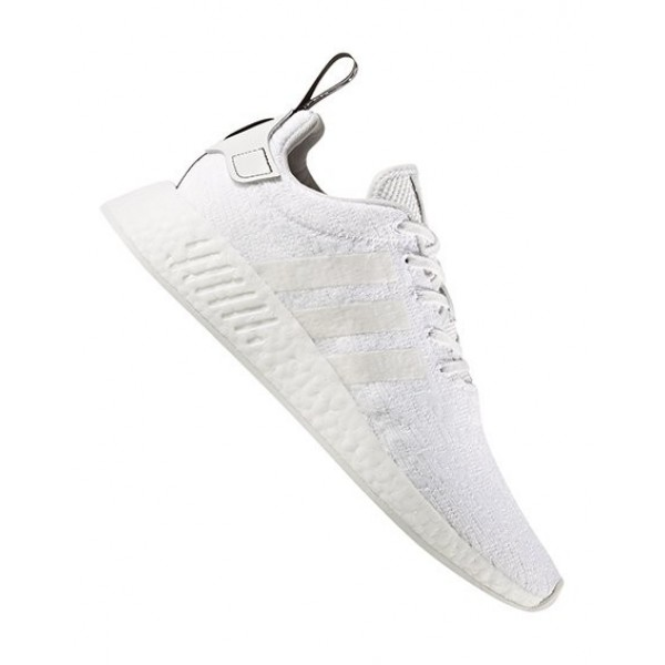 Adidas Men NMD R2 Crystal White Core Black Shoes BY9914