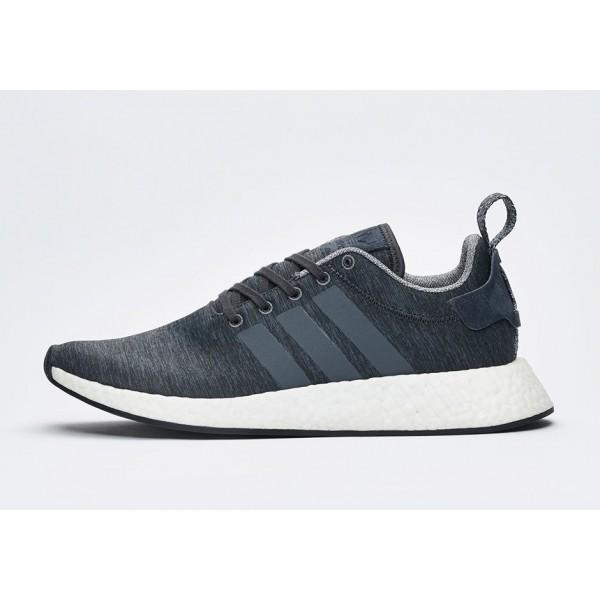 "Adidas Men NMD R2 ""Melange Pack"" Grey Sh..."