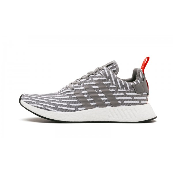 "Adidas Men NMD R2 ""JD Sports"" Grey White..."