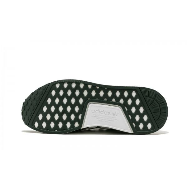 Adidas Men NMD R1 X Bape Camo Green Shoes BA7326
