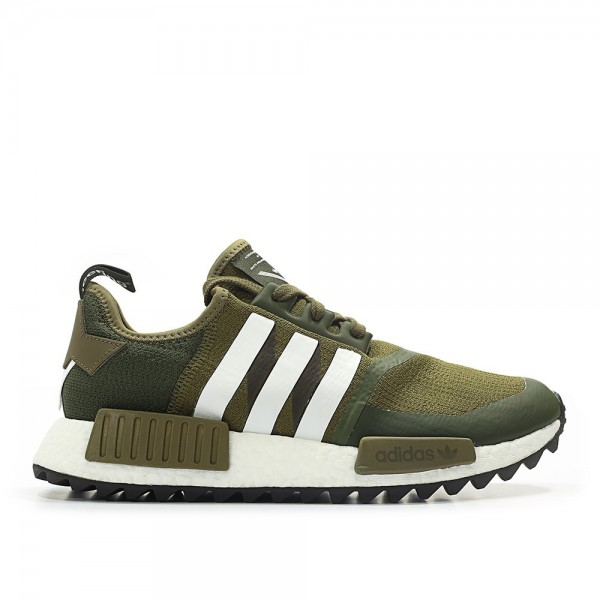Adidas Men NMD R1 Trail Primeknit X White Mountain...