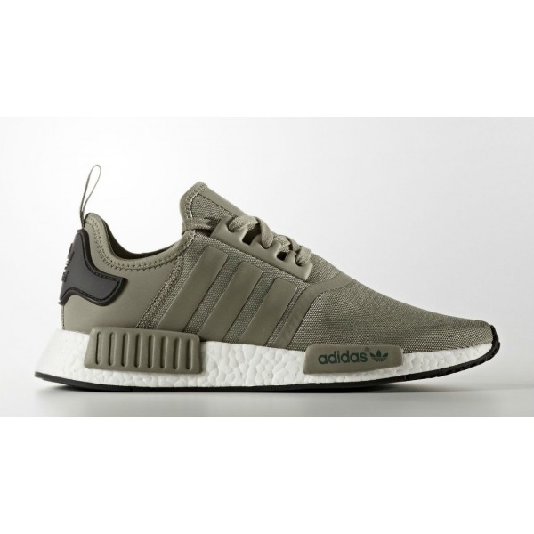 Adidas Men NMD R1 Trail Trace Cargo Black Shoes BA7249