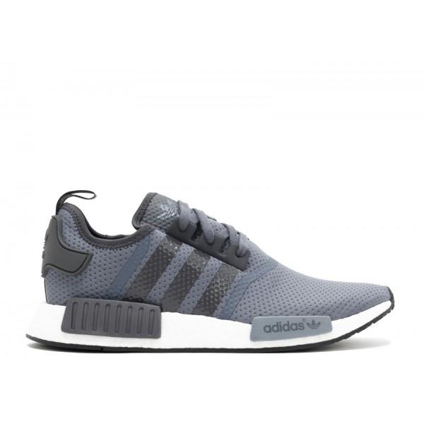 Adidas Men NMD R1 Runner Nomad Dark Solid Grey Shoes BB1355
