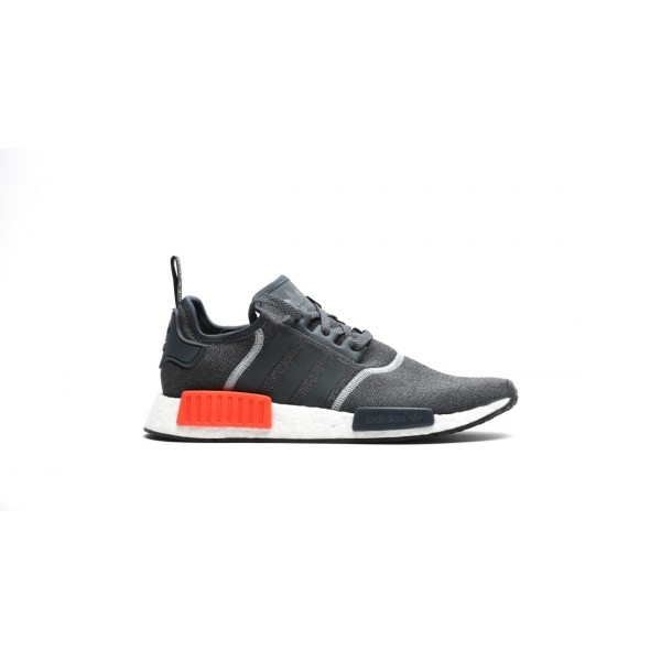 Adidas Men NMD R1 Reflective 3M Dark Grey Solar Re...