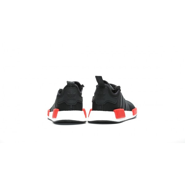 Adidas Men NMD R1 Runner Boost Black Red Shoes BB1969