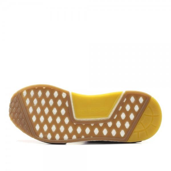 Adidas Men NMD R1 Primeknit Red White Shoes AQ4791