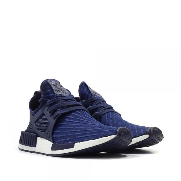 Adidas Men NMD XR1 Primeknit Navy Red Shoes BA7215