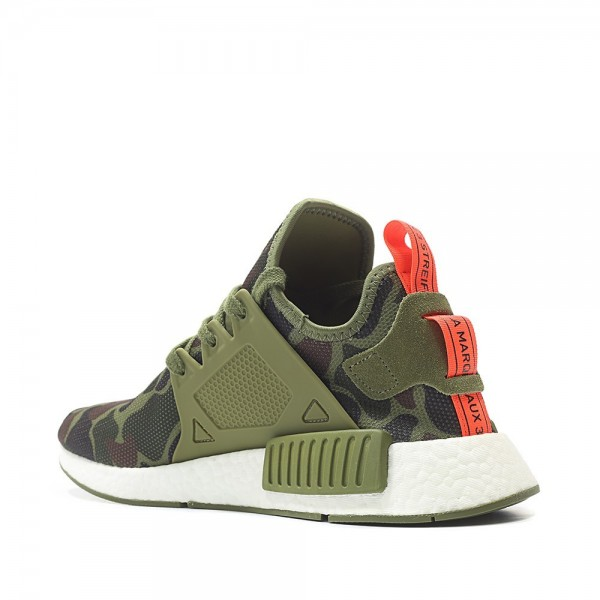 Adidas Men NMD XR1 Olive Green Duck Camo Bape Shoes BA7232