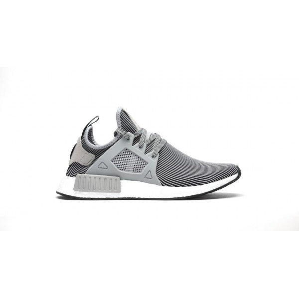Adidas Men NMD XR1 Boost Runner Primeknit Grey Whi...