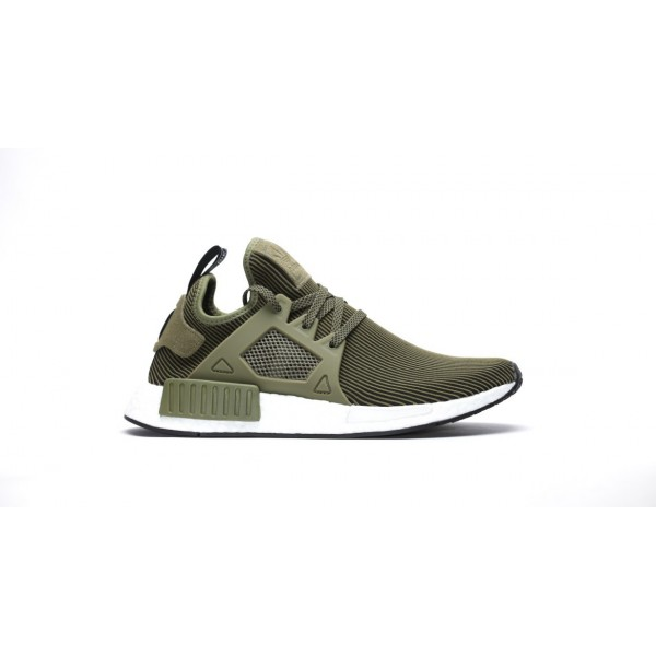 Adidas Men NMD XR1 Boost Runner Primeknit Green Bl...