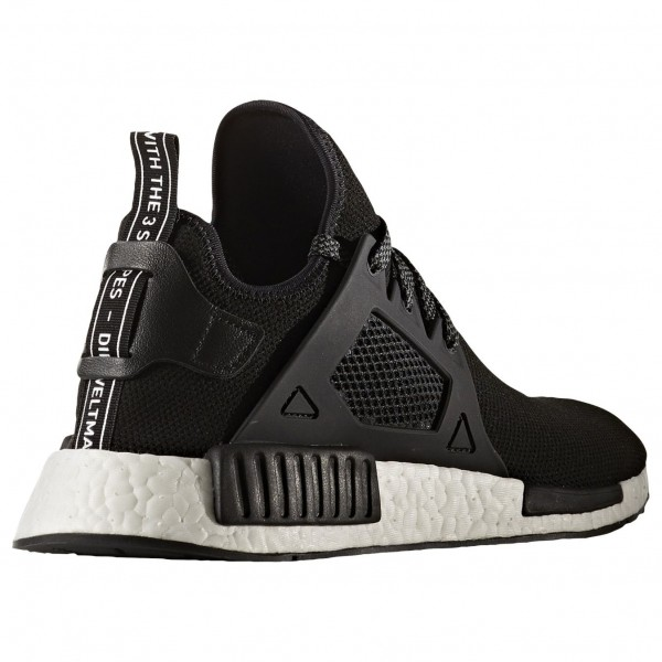 Adidas Men NMD XR1 Black White Shoes BY3050