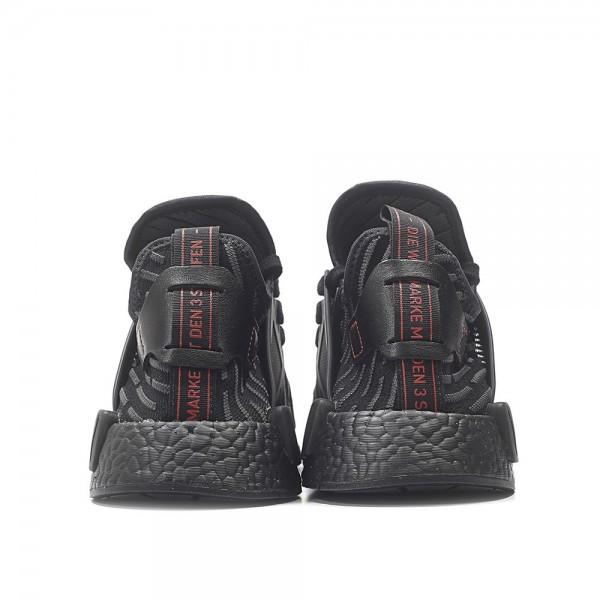 "Adidas Men NMD XR1 ""Triple Black"" Shoes BA7214"