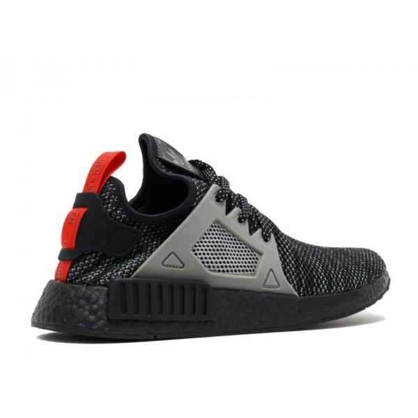 Adidas Men NMD XR1 Black Grey Glitch Camo Running Shoes S76851