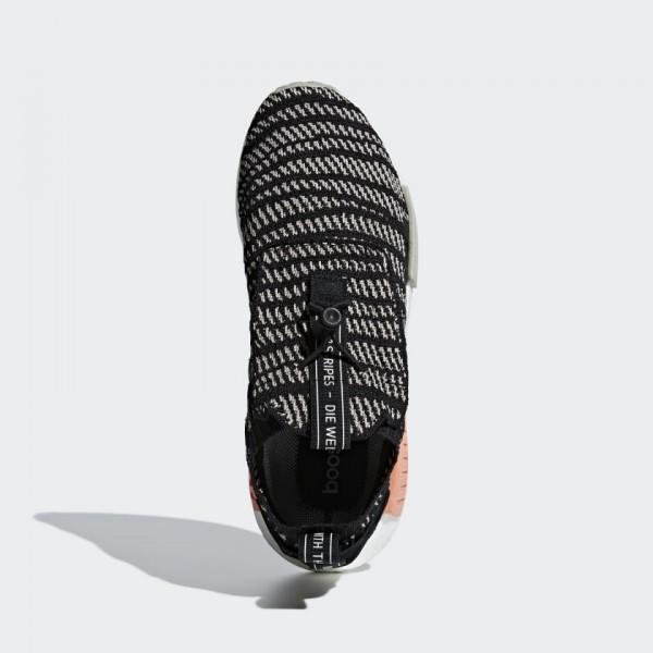 Adidas Men NMD TS1 Primeknit GTX Black Beige Shoes BB9176