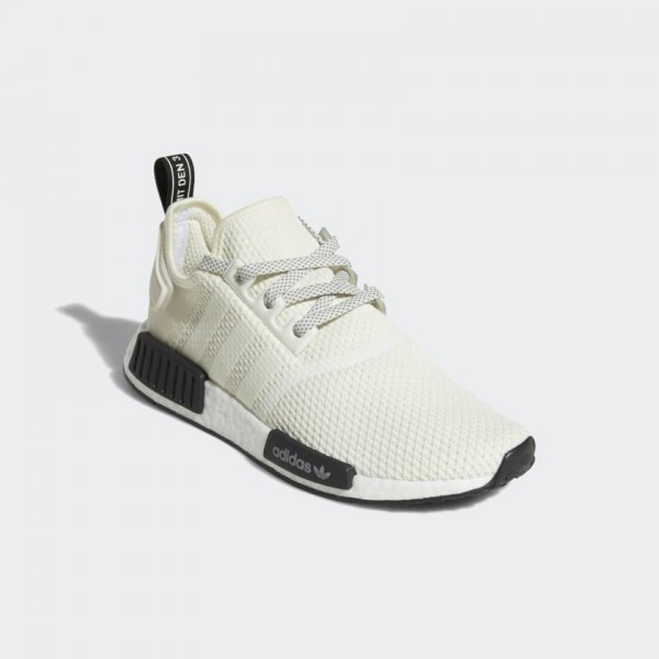 Adidas Men NMD Runner R1 White/Core Black Casual Shoes D97215