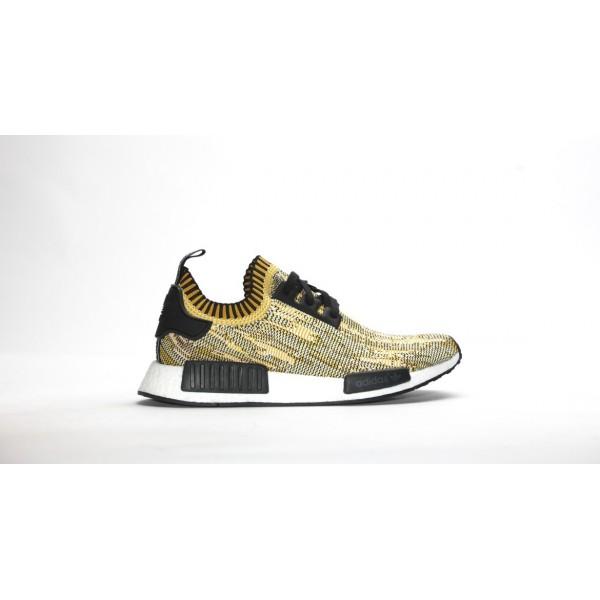 Adidas Men NMD Runner Primeknit Yellow Gold Shoes ...