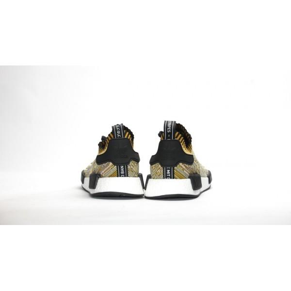 Adidas Men NMD Runner Primeknit Yellow Gold Shoes S42131
