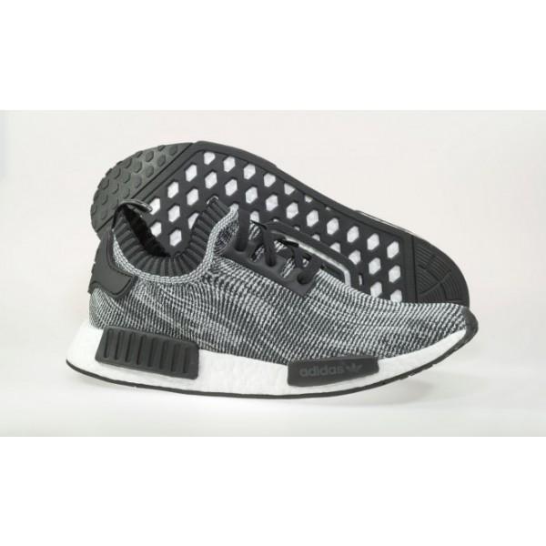 Adidas Men NMD Runner PK Black White Running Shoes S79478