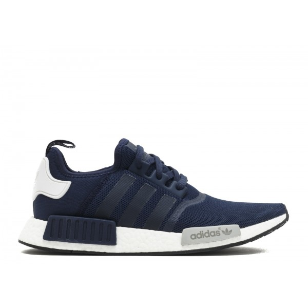 Adidas Men NMD Runner Boost Navy Blue White Shoes S79161
