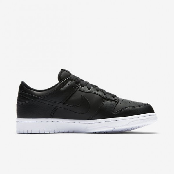 Nike Men Dunk Low Black White Shoes 904234-003