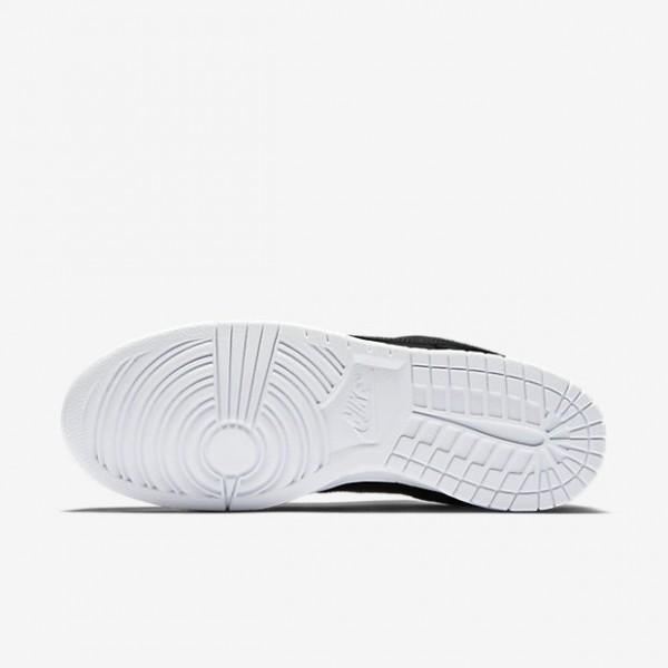 Nike Men Dunk Low Black White Shoes 904234-003