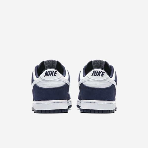Nike Men Dunk Low Blue White Shoes 904234-400