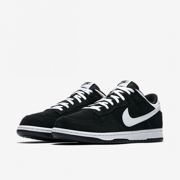 Nike Men Dunk Low Black White Shoes 904234-001