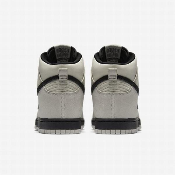 Nike Men Dunk High Grey Black Shoes 904233-002