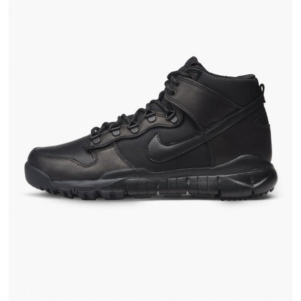 Nike Men Dunk High Boot Black Shoes 536182-001