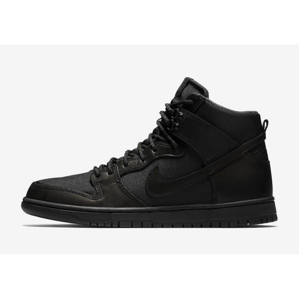 Nike 923110-001 SB Dunk High Pro BOTA Men Triple B...