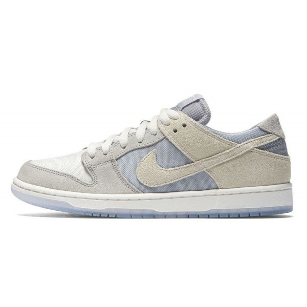 Nike 854866-011 SB Dunk Low Pro Wolf Grey/Summit W...